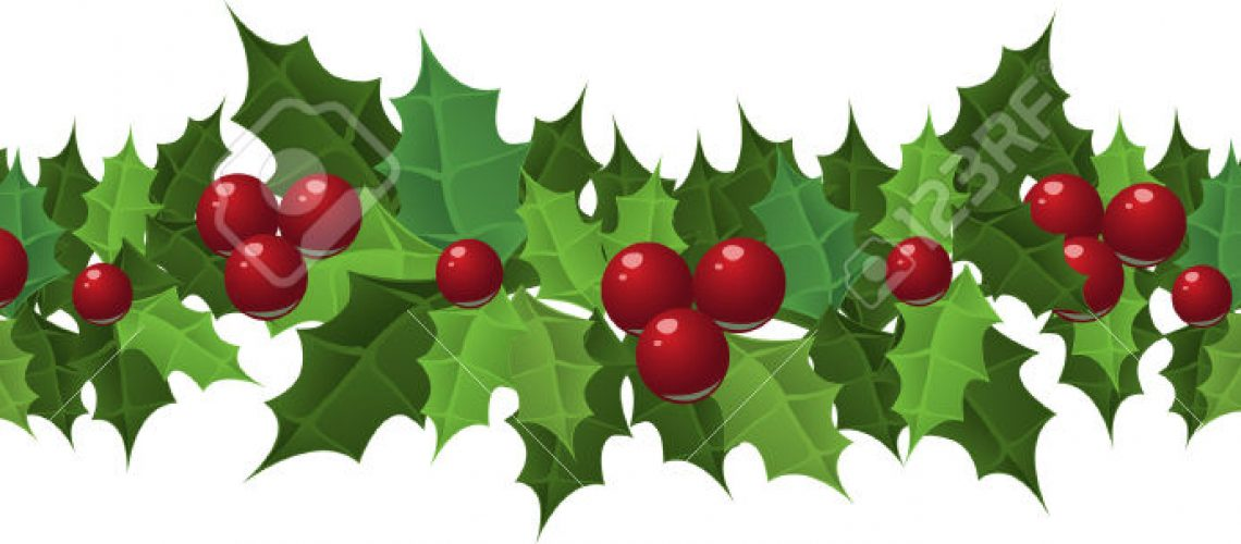 garlanded-clipart-holly-and-ivy